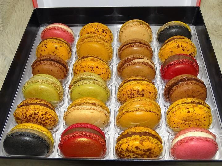 Les délices de macarons de PierreHermé.