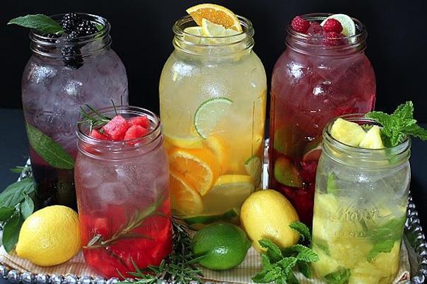 Ma cure Detox Water: mes recettes faitesmaison!