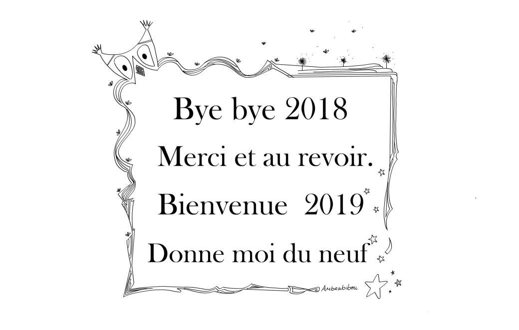 Bye bye 2018